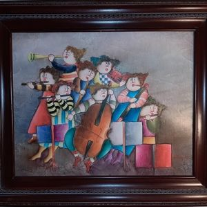 Other - Joyce Roybal Signed Lithograph Framed